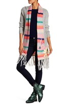 Desigual Multi Color Shawl Collar Cardigan