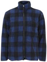 Our Legacy Funnel Neck Jacket Polarfleece Check