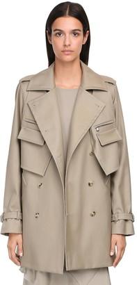 Max Mara Cotton Twill Coat