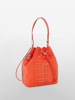 Calvin Klein Hailey Convertible Drawstring Bucket Bag