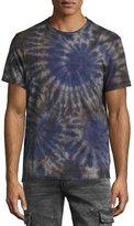 True Religion Spiral Tie-Dye T-Shirt, Indigo