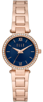 Elle Muette Rose Gold-Tone Analogue