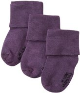 Baby Soy 3 Pack Modern Abcs Socks (Baby) - Wineberry - 12-24 Months