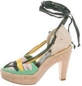 Stella McCartney Multicolored Platform Sandals