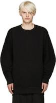 Attachment Black Accent Seam Sweatshirt
