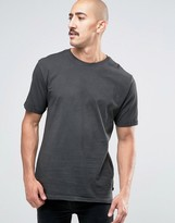 ONLY & SONS Oil Wash T-Shirt with Raw Hem