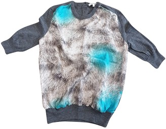 Carven Anthracite Wool Knitwear for Women