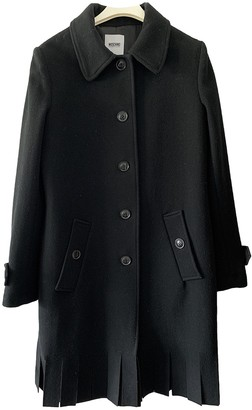 Moschino Cheap & Chic Moschino Cheap And Chic Black Wool Coat for Women