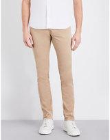 Corneliani Regular-fit Tapered Stretch-cotton Trousers