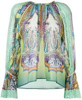 Etro paisley print blouse - women - Silk/Polyester/Acetate - 42