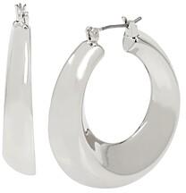 Robert Lee Morris Soho Sculptural Wide Hoop Earrings