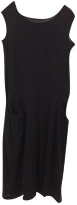 Yohji Yamamoto Black Wool Dress for Women