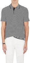Ralph Lauren Purple Label Men's Striped Pima Cotton Polo Shirt