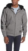 Caterpillar Men's Logo Panel Zip Sweatshirt