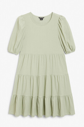 Monki Flounce layered dress