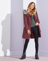 Only Faux Fur Parka Coat