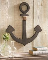 Mud Pie Anchor Aluminum Wall Art