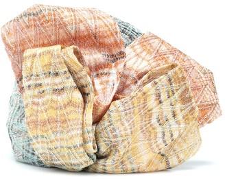 Missoni Knitted metallic turban