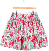 Kenzo Girls' Printed A-Line Skirt