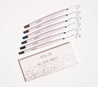 Doll 10 All Eye Need 6-Piece Eyeliner Set