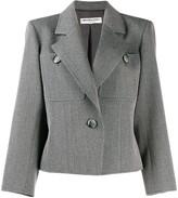 Saint Laurent Pre Owned 1980's straight tailored blazer