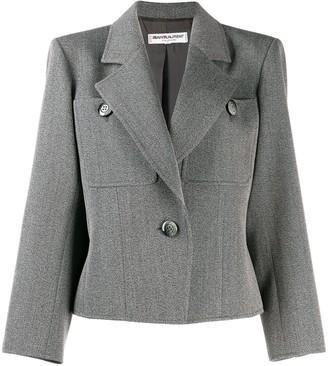 Yves Saint Laurent Pre Owned 1980's Straight Tailored Blazer