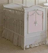 The Well Appointed House Flower Basket Crib with Pink Panel