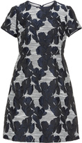 Apart Plus Size Jacquard dress