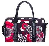Desigual Bowling Flower Geometric Shoulder Bag,Size