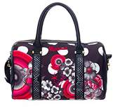 Desigual Bowling Flower Geometric Shoulder Bag