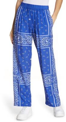 Melody Ehsani Staycation Bandana Print Pants