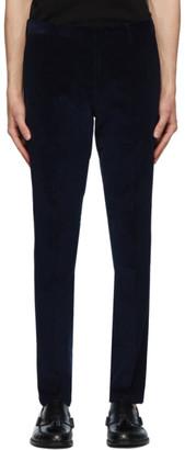 Paul Smith Navy Corduroy Trousers