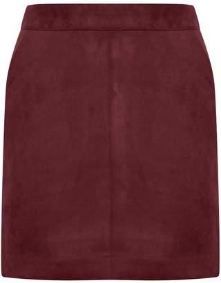 M&Co Vero Moda faux suede skirt