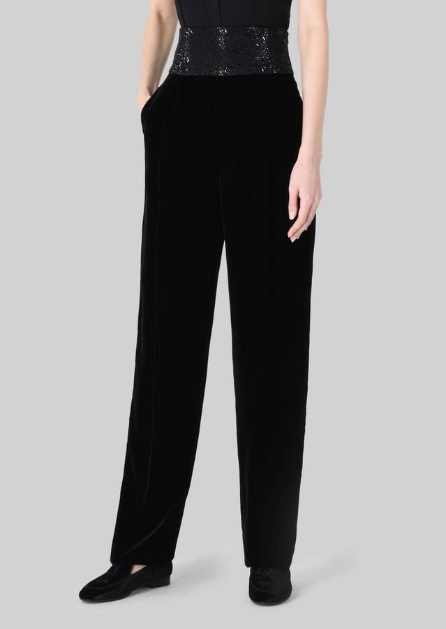 Giorgio Armani Velvet Trousers