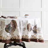 Williams-Sonoma Williams Sonoma Plymouth Turkey Tablecloth, Round