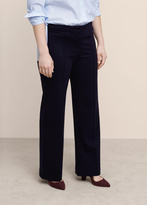 Violeta BY MANGO Straight Seam Trousers