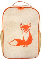 SoYoung Raw Linen Grade School Backpack