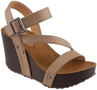 Agape Women's Sandals CAMEL - Camel Prince Wedge - Women