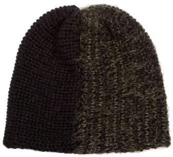 bef01b58 Reinhard Plank Hats - Bi Colour Wool Blend Beanie Hat - Womens - Green