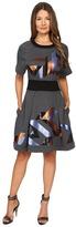 Just Cavalli Geo Sequin Sweatshirt Dress Women's Dress