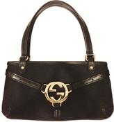 Gucci Black Cotton Handbag