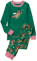 Gymboree Green & Red Ninjabread Man Pajama Set - Infant Toddler & Boys