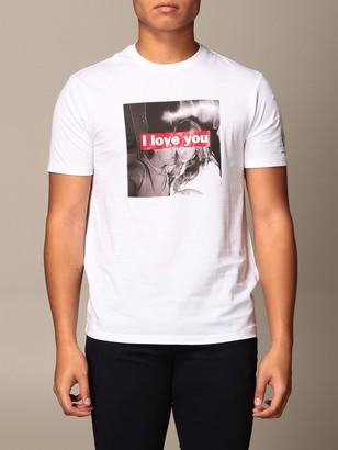 Armani Exchange T-shirt With I Love You Print