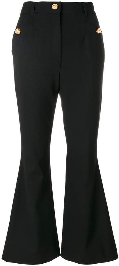 Dolce & Gabbana flared cropped trousers