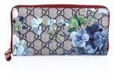 Gucci GG Blooms Zip-Around Wallet
