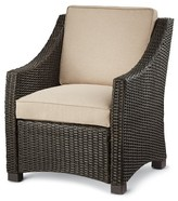 Threshold Belvedere Wicker Patio Club Chair
