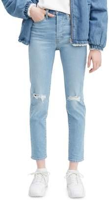 Levi's Wedgie Skinny Arctic Freeze Jeans