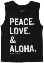 Spiritual Gangster Peace Love Aloha Tee