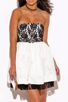 Minuet Linen Lace Dress