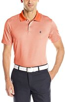 Izod Men's Short Sleeve Micro Gingham Stretch Golf Polo